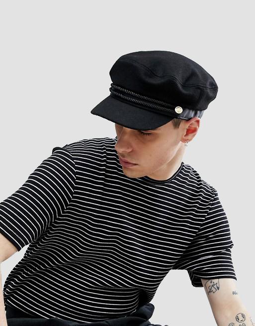 Mariner Cap In Black